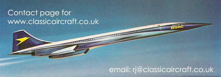 BOAC Concorde illustration