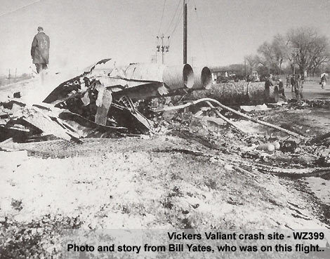 Crashed aircraft