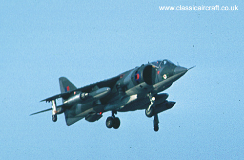 Hawker Siddeley Harrier photo