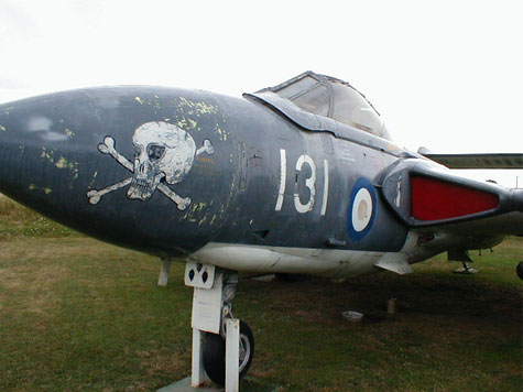 De Havilland Sea Vixen FAW2 nose photo