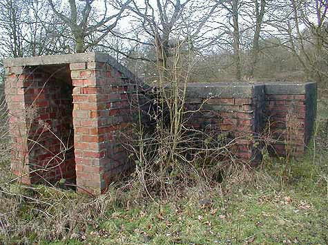 RAF Byley Bunker entrance photo